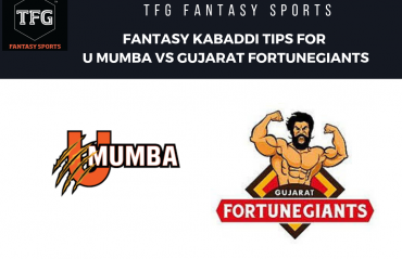 TFG Fantasy Sports: Fantasy Kabaddi tips for U Mumba vs Gujarat Fortune Giants - PKL 2019