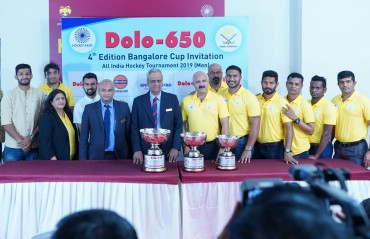 Hockey Karnataka announces the return of marquee annual hockey extravaganza the Dolo-650 Bangalore Cup