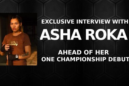 #TFGInterview -- Asha Roka not intimidated by Stamp Fairtex challenge, eyes winning streak in ONE Championship