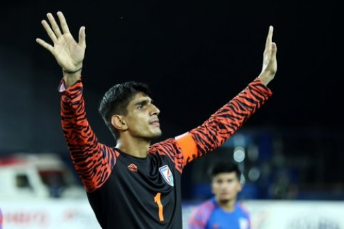 Gurpreet Singh Sandhu is the fourth keeper to receive Arjuna award honour