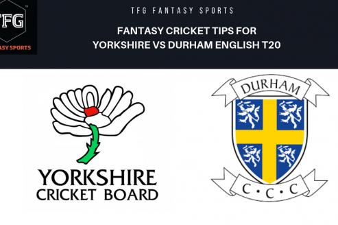 TFG Fantasy Sports: Dream11 fantasy cricket tips for Durham v Yorkshire English T20