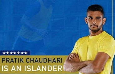 Defender Pratik Chaudhari is back at Mumbai and this time it is Mumbai City FC