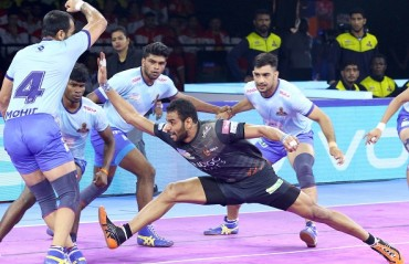 Watch Pro Kabaddi Highlights: U Mumba registering a 29-24 win over Tamil Thalaivas