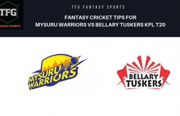 TFG Fantasy Sports: Dream11 Fantasy Cricket tips for Bellary Tuskers v Mysuru Warriors KPL T20