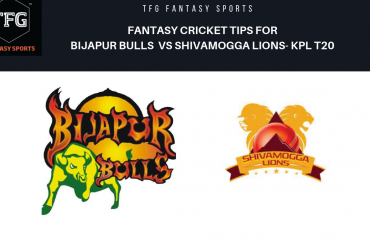 TFG Fantasy Sports: Dream11 Fantasy Cricket tips for Bijapur Bulls v Shivamogga Lions KPL T20
