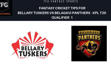 TFG Fantasy Sports: Dream11 fantasy cricket tips for Belagavi Panthers v Bellary Tuskers- KPL T20 qualifier