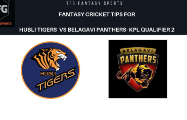 TFG Fantasy Sports: Dream11 fantasy cricket tips for Hubli Tigers v Belagavi Panthers-- KPLQualifier 2