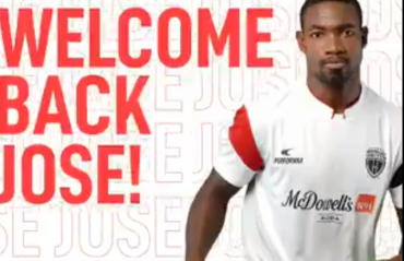 NorthEast United FC get Colombian Jose Leudo back for another season