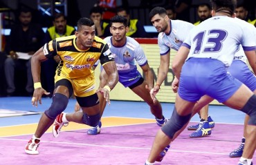 Watch Pro Kabaddi Highlights: Telugu Titans outperformed Tamil Thalaivas to clinch the match 35-30