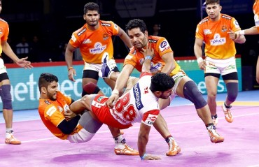 Watch  Pro Kabaddi Highlights: Vikas Kandola was once again an unstoppable force as Haryana Steelers cruised to a 41- 27 victory against Puneri Paltan