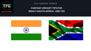 TFG Fantasy Sports: Dream11 Fantasy Cricket tips for India v South Africa 2nd T20