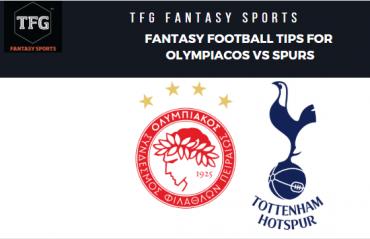 TFG Fantasy Sports: Dream 11 Football tips Olympiacos vs Tottenham Hotspur - UEFA Champions League