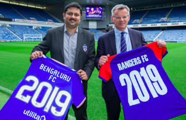 Bengaluru FC announce two year partnership engagement with Rangers FC