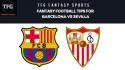 TFG Fantasy Sports: Dream 11 Football tips for Barcelona vs Sevilla -- La Liga