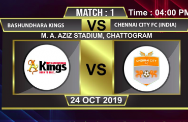 WATCH - Cards, chaos and controversy as 9 man Chennai City suffer a narrow loss to Basundhara Kings