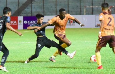 WATCH -- Gokulam Kerala FC hold two time Malaysian champions Terengganu FC to a draw