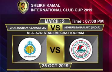 WATCH - Suhair's goal sends Mohun Bagan to Sheikh Kamal International Club Cup semis