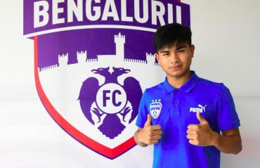 BFC academy's Sridarth Nongmeikapam is on trial at Slovenian club Ilirija