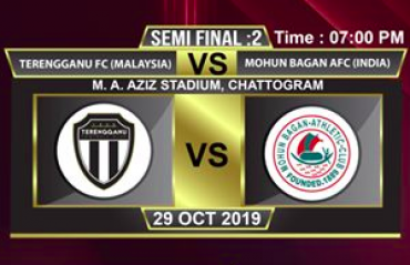 WATCH- Mohun Bagan lose to Terengganu FC as Lee Tuck scores a hat-trick in Sheikh Kamal International Club Cup semis