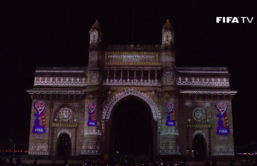 FIFA U-17 Women's World Cup 2020 - Official Emblem Launch at Gateway of India