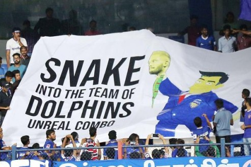 The Raphael Augusto banner: Not the first, not even the worst