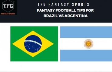 TFG Fantasy Sports: Dream 11 Football tips for Brazil vs Argentina -- International friendly