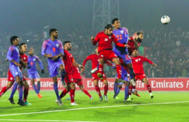 Seminlen Doungel's late equalizer helps India salvage a 1-1 draw against spirited Afghanistan