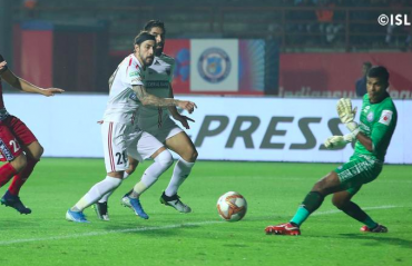 ISL 2019-20 HIGHLIGHTS - NorthEast United grab a point from Jamshedpur with late equalizer