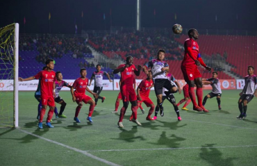 MPL 2019 -- Aizawl FC beat Chanmari FC in first leg of semi-finals