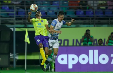 ISL 2019-20 HIGHLIGHTS - Kerala Blasters hold Jamshedpur FC with fiery late comeback