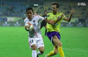 ISL 2019-20 HIGHLIGHTS -- Kerala Blasters victim of referee error in NorthEast United draw