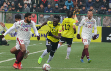 I-League 2019-20 FULL MATCH: Mohun Bagan hand Real Kashmir FC their first defeat