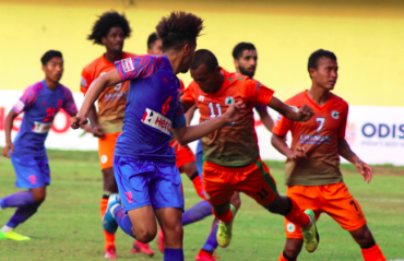 I-League 2019-20 -- Indian Arrows hold NEROCA FC to a fighting draw