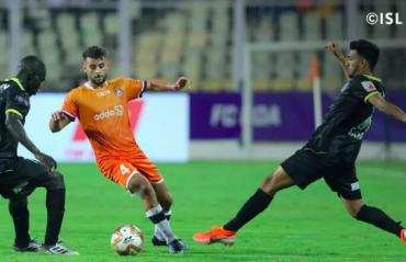 ISL 2019-20 HIGHLIGHTS: Kerala Blasters' 2nd half comeback falls just short, FC Goa win it late