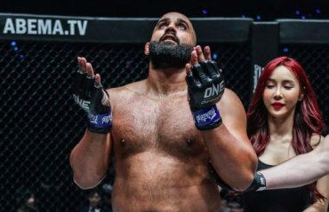 History beckons Arjan Singh Bhullar in ONE Championship Heavyweight title bout
