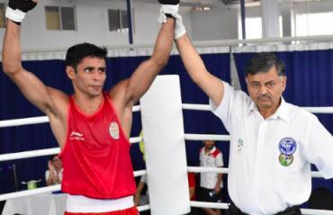 Olympic Qualifers Boxing -- Gaurav Solanki, Ashish Kumar win on first day