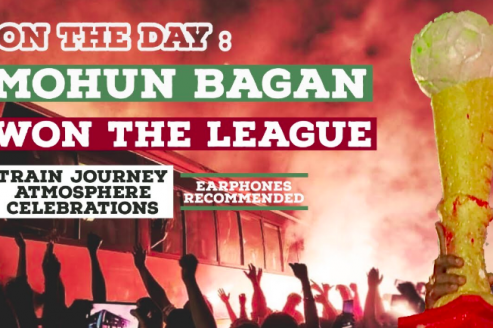 WATCH -- On the day Mohun Bagan won the I-League -- A documentary by Footy Traveller