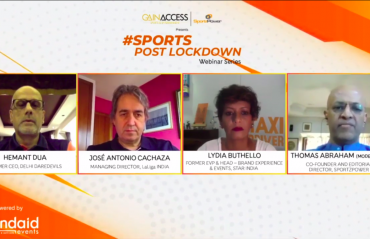 WATCH -- Senior sports professionals envisage return of La Liga and ISL in a closed-door format