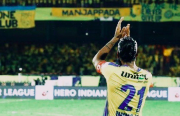 Sandesh Jhingan bids emotional goodbye to Kerala Blasters fans