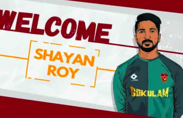 I-League 2020 -- Goalkeeper Shayan Roy joins Gokulam Kerala FC from TRAU