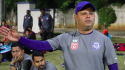 Former Indian international Noel Wilson now Jamshedpur FC assistant coach