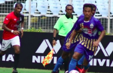 I-League Qualifiers 2020 FULL MATCH -- Bhawanipore FC beat Bengaluru United in India's first post-COVID football match