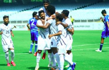 I-League Qualifiers 2020 FULL MATCH -- Mohammedan Sporting cruise past ARA FC
