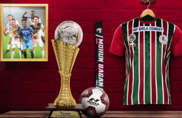 WATCH -- Mohun Bagan celebrate official I-League 2019-20 trophy reception ceremony