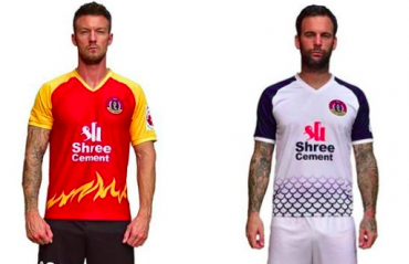 ISL -- East Bengal launch their kits for the 2020-21 season