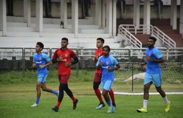 Gokulam Kerala FC begin their pre-season training in Kozhikode