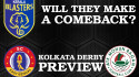 TFG Indian Football Roundup Ep 16 -- Kerala Blasters stumble in ISL, Kolkata Derby Preview