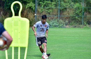 Eugenson Lyngdoh shares his thoughts on the Kolkata derby in the ISL