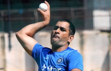 Probably Dhoni should start bowling now, in order to re-invent himself and stay in the team
