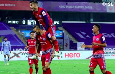 ISL 2020 -- Jamshedpur FC hold Mumbai City with ten men